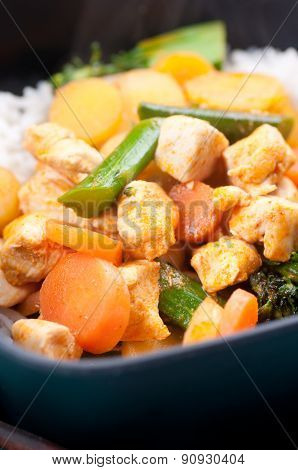 Thai Coconut And Mango Curry