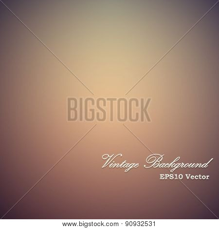 Vintage red and yellow vignette vector background.