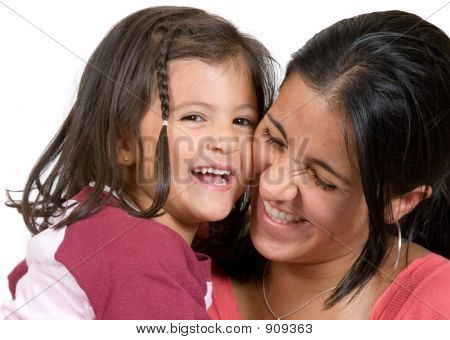 Girl With Her Mum Having A Laugh 2