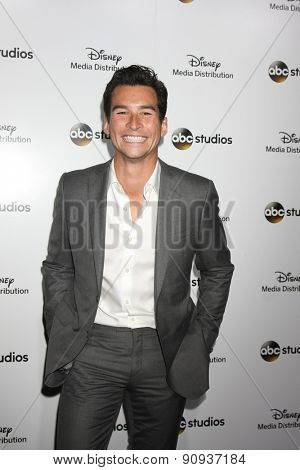 LOS ANGELES - MAY 17:  Jay Hayden at the ABC International Upfronts 2015 at the Disney Studios on May 17, 2015 in Burbank, CA