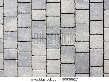 Grey Earthenware Floor Tile Seamless Background And Texture