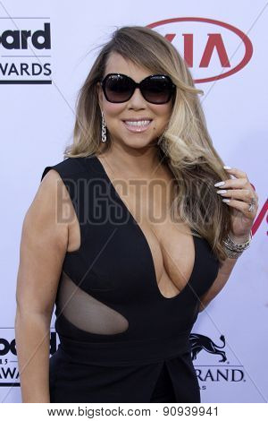 LAS VEGAS - MAY 17:  Mariah Carey at the Billboard Music Awards 2015 at the MGM Garden Arena on May 17, 2015 in Las Vegas, NV