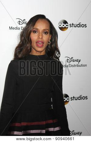 LOS ANGELES - MAY 17:  Kerry Washington at the ABC International Upfronts 2015 at the Disney Studios on May 17, 2015 in Burbank, CA
