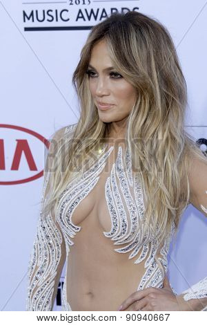 LAS VEGAS - MAY 17:  Jennifer Lopez at the Billboard Music Awards 2015 at the MGM Garden Arena on May 17, 2015 in Las Vegas, NV