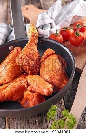 paprika chicken in pan