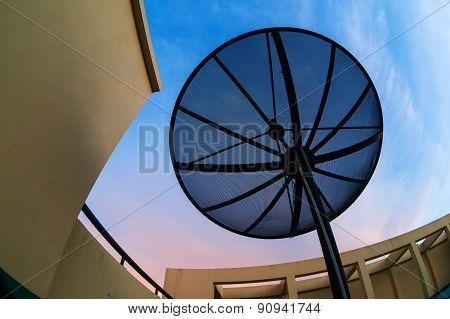 Radar In Blue Sky