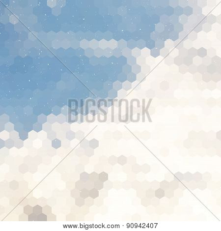 Cloudy Dust Background