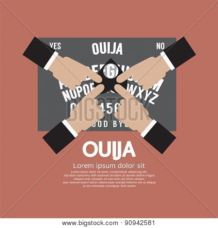 Ouija Board Playing.