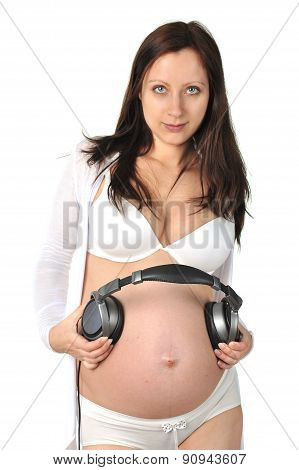 Future Baby Listens To Music
