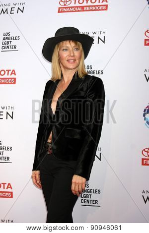 LOS ANGELES - MAY 16:  Angela Featherstone at the