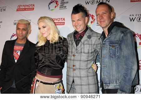 LOS ANGELES - MAY 16:  Gwen Stefani, No Doubt at the