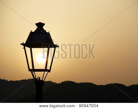 Sun In Lantern