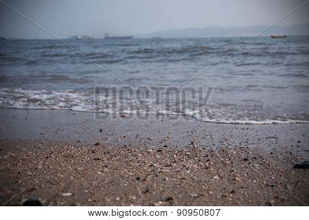 Sand in Beach