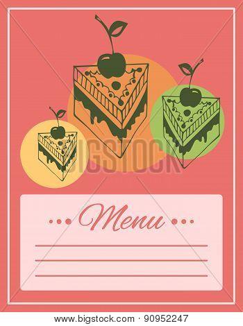 Cafe menu cover