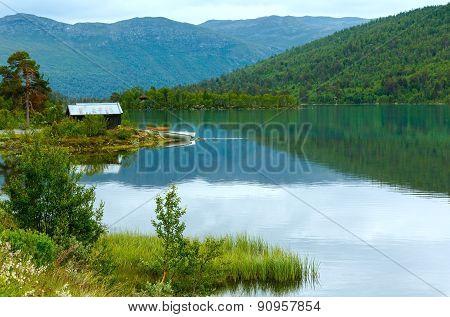 Summer Fjord Coast Landscape (norway).