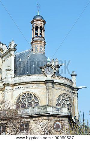 The Church Of St Eustace, Paris.