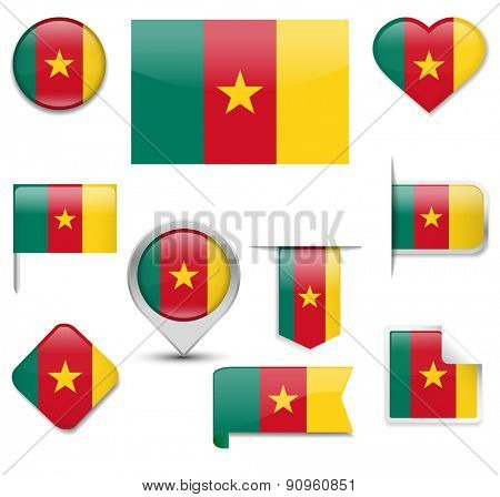Cameroon Flag Collection