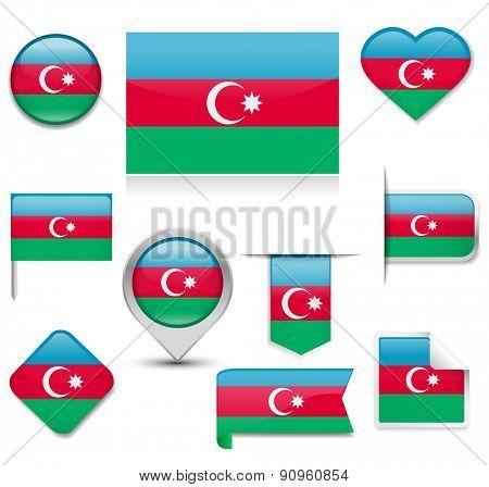 Azerbaijan Flag Collection