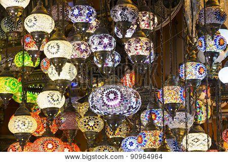 traditional oriental lights