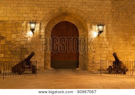 Royal Palace Gate Entrance Almudaina