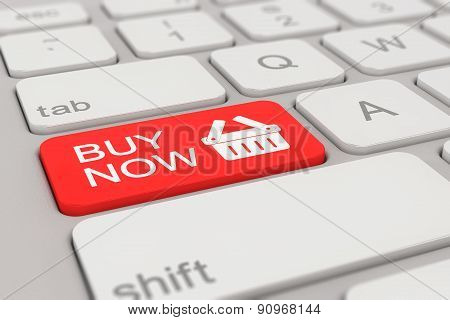 Keyboard - Buy Now - Red