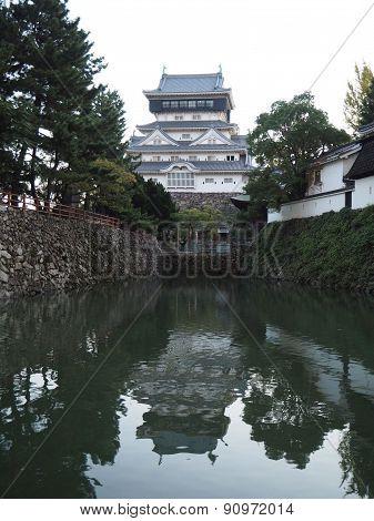 Kokura Castle on the River