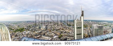 Panorama Of Frankfurt Am Main