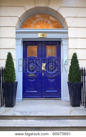 Georgian Entrance - Harley Street