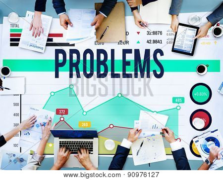 Problems Failure Difficulty Trouble Solution Concept