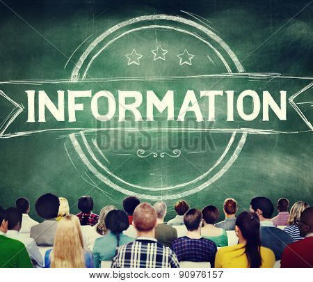 Information Info Data Facts Source Concept