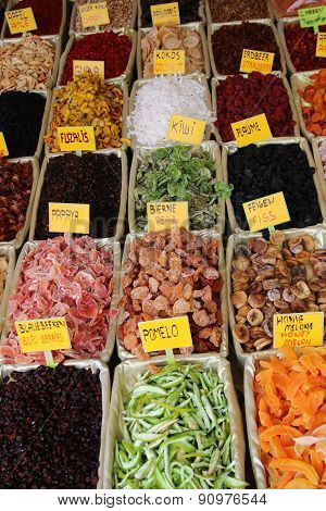 Mix Dried Fruits At Grand Bazaar