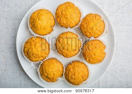 Fresh Baked Homemade Healthy Muffins