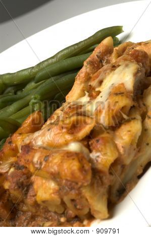 Baked Ziti And Green Beans