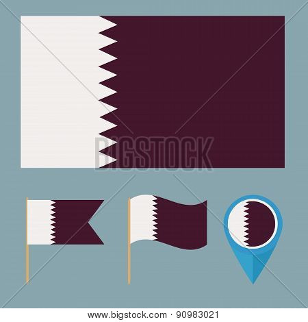 Qatar,country flag