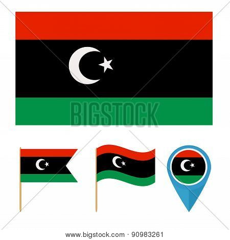 Libya,country flag