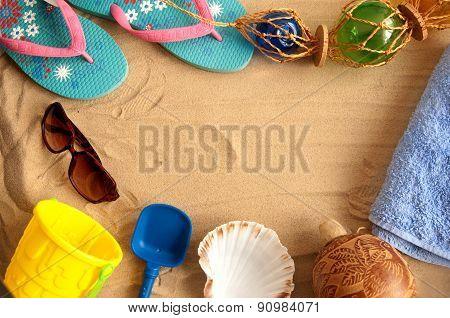 Summer Beach Holiday Background