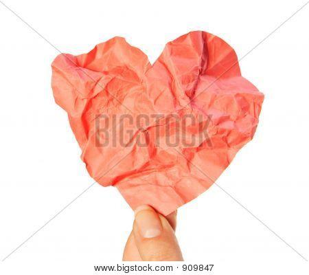 Crumpled Heart