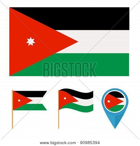 Jordan,country flag