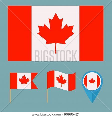 Canada, country flag