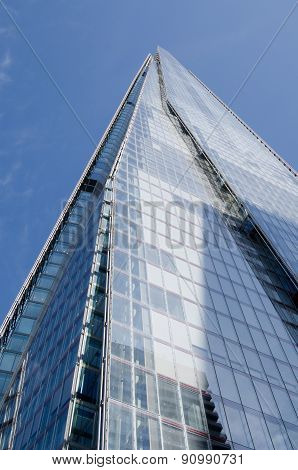 The Shard, low angled view, London