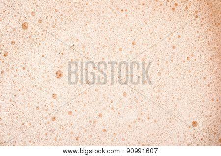 Beer Foam Texture.