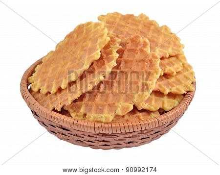 Bowl With Waffles