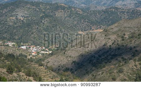 Cyprus Mountain Village Of Askas