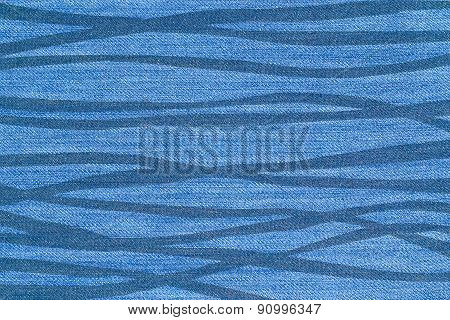 Cool Stripes On Jeans Texture - Graphic Background