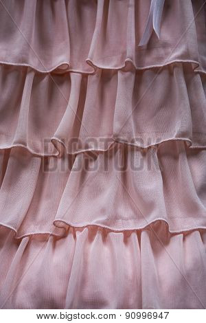Pink Ruffles Detail