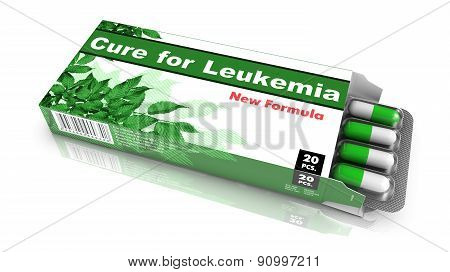 Cure for Leukemia - Pack of Pills.