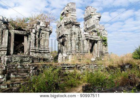 Ruins Of Phnom Bok