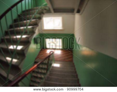 Internal Staircase Between Floors