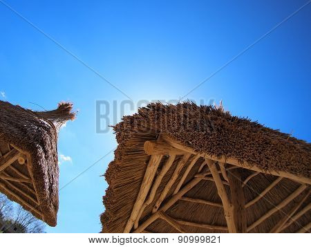 Two Roof Of Reeds
