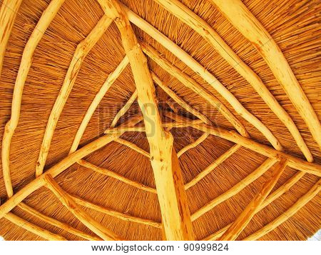 The Roof Is Made Of Straw